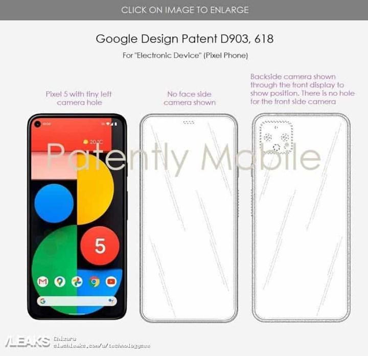 Google Pixel 6'nın ilk görüntüsü internete sızdırıldı