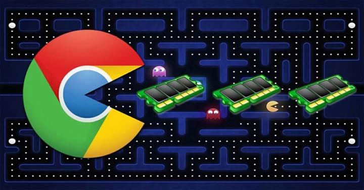 Google Chrome 2021'de Windows 10 altında daha az bellek kullanacak