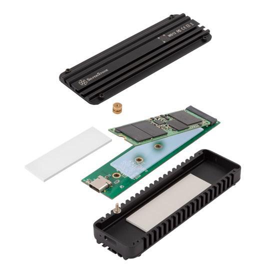 SilverStone harici NVMe SSD kutusunu duyurdu
