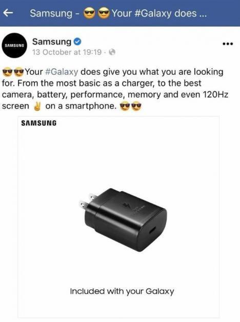 Samsung, kutusundan şarj aleti çıkmayan iPhone'la dalga geçtiği gönderiyi sildi