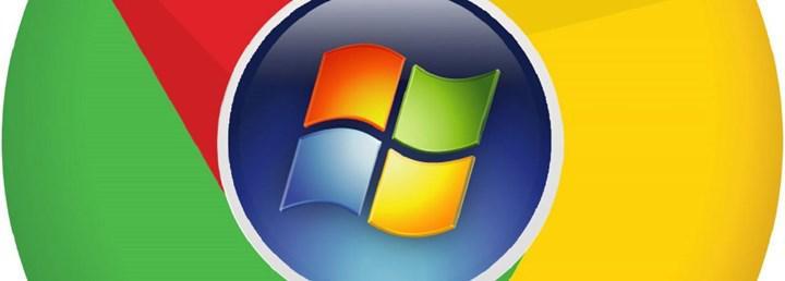 Google, Chrome geliştiricilerine Windows 7'yi bırakmalarını önerdi