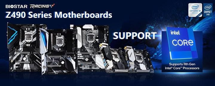 Biostar Z490 anakartlar için 11. nesil Core işlemci desteğini doğruladı