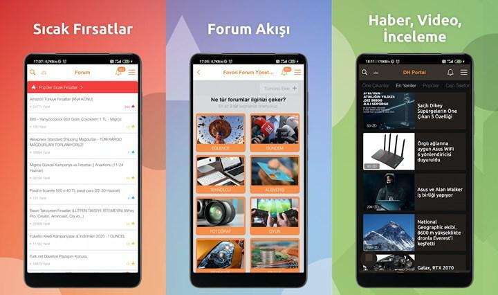 DH Android uygulaması geliştirme günlüğü #1