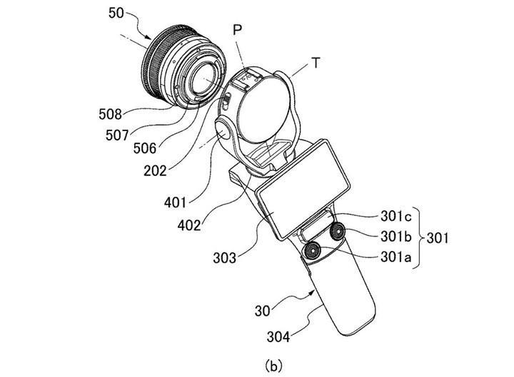 Canon, değiştirilebilir lens yapısına ve gimbal benzeri tasarıma sahip bir kamera patenti aldı