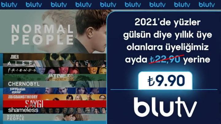 BluTV yılbaşında indirime giriyor