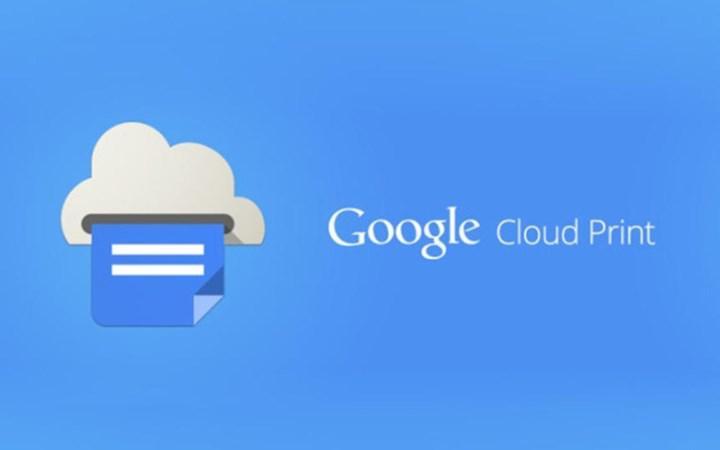 Google bir hizmeti daha sonlandırıyor: Cloud Print için son günler