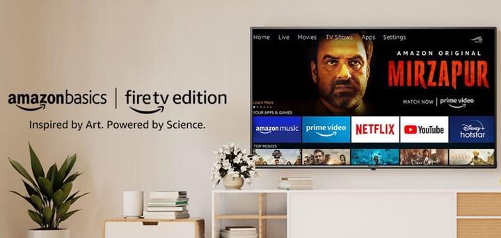 Amazon ilk televizyon modelini Hindistan'da satışa sunuyor