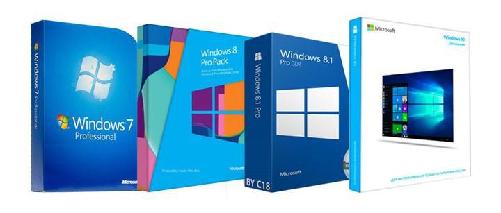 Windows işletim sistemlerinin popülerlik oranları belli oldu