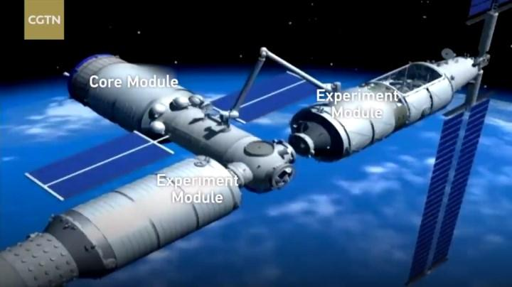 Çin uzayda vites yükseltiyor: Dev uzay istasyonu 2021'de fırlatılacak