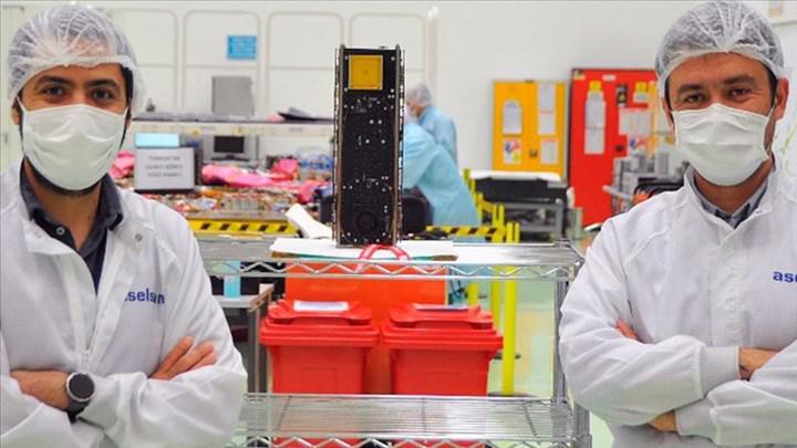 ASELSAN'ın küp uydusu SpaceX Falcon 9 roketiyle yörüngeye fırlatılacak