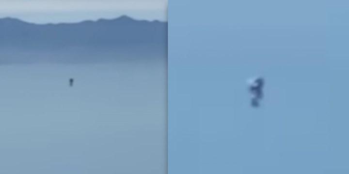 Los Angeles'taki gizemli 'Jetpack-Adam' gökyüzünde uçarken görüntülendi