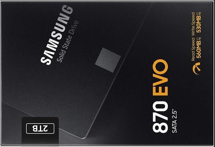 Samsung 870 EVO SSD modeli geliyor