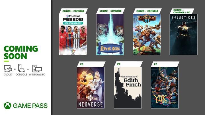 Ocak ayında Xbox Game Pass'e eklenecek oyunlar belli oldu: PES 2021, Injustice 2 ve daha fazlası