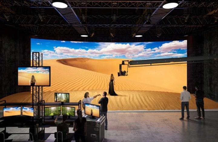 Sony Crystal LED ekranlar stüdyolara geliyor