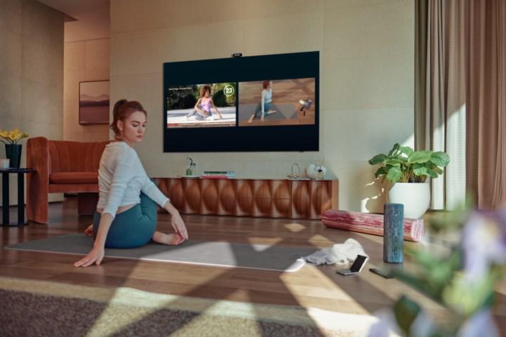 Samsung QLED televizyonlar antrenman koçunuz olacak
