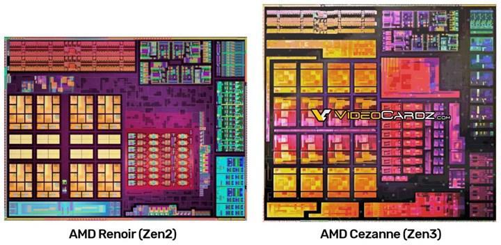 Ryzen 5000 APU'sunun zar tasarımı görüntülendi: Selefinden %10 büyük