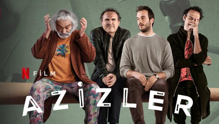 Başrolünde Haluk Bilginer ve Engin Günaydın'ın olduğu yeni Netflix filmi Azizler yayınlandı