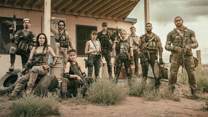 Zack Snyder'ın zombi-soygun temalı yeni Netflix filmi Army Of The Dead'ten görseller paylaşıldı