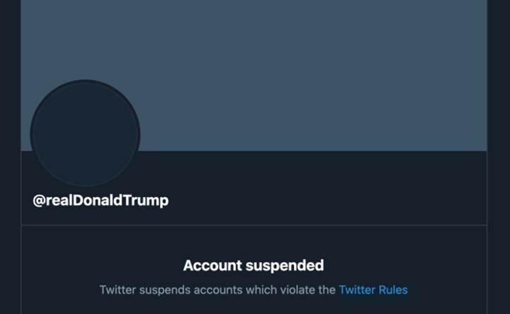 Sosyal medyadan yasaklanan Trump; TikTok'a kaldı