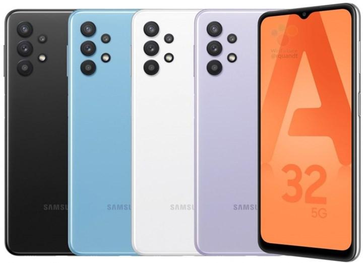 Samsung'un en uygun 5G telefonu Galaxy A32 5G'nin basın görselleri ortaya çıktı