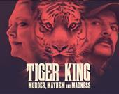Tiger King, ilk 28 gününde 64 milyon hane tarafından izlendi.<br/><br/>Konusu: Büyük kedi yetiştiriciliğinin yeraltı dünyasında geçen bu gerçek kiralık katil öyküsünde bir hayvanat bahçesi sahibi, ilginç karakterlerin ortasında kontrolden çıkıyor.