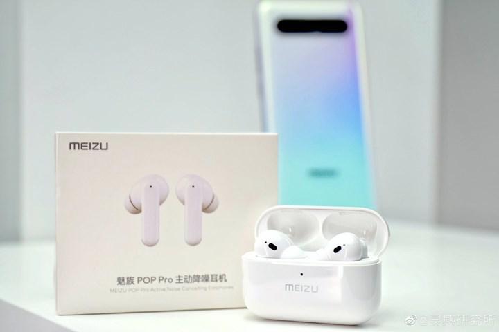 Meizu'dan AirPods Pro tasarımlı yeni kablosuz kulaklık