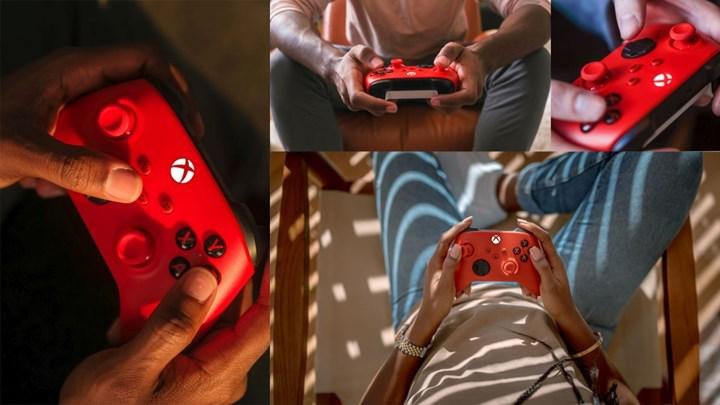 Xbox Series'in kırmızı renkli yeni kontrolcüsü tanıtıldı