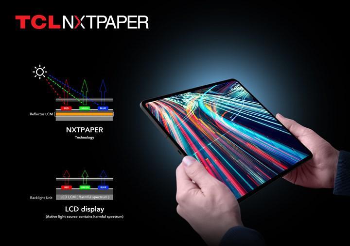 TCL NXTPAPER e-mürekkep ekranlı tablet tanıtıldı