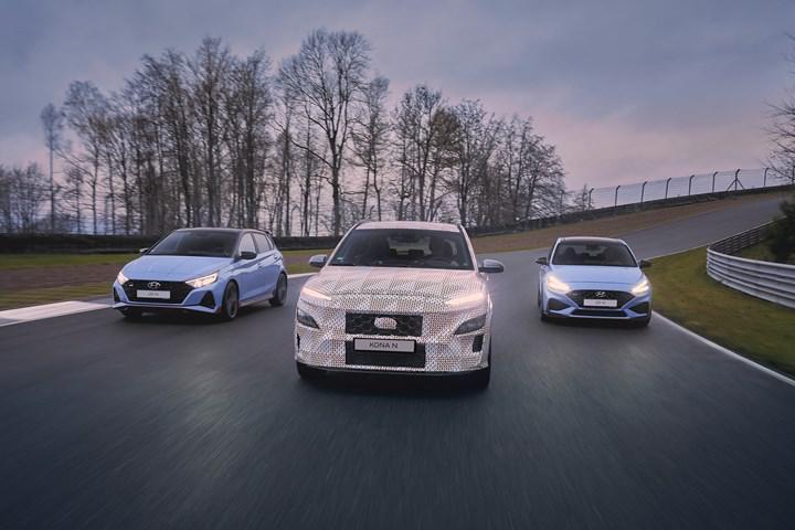 Hyundai Kona N'in kamuflajlı fotoğrafları paylaşıldı