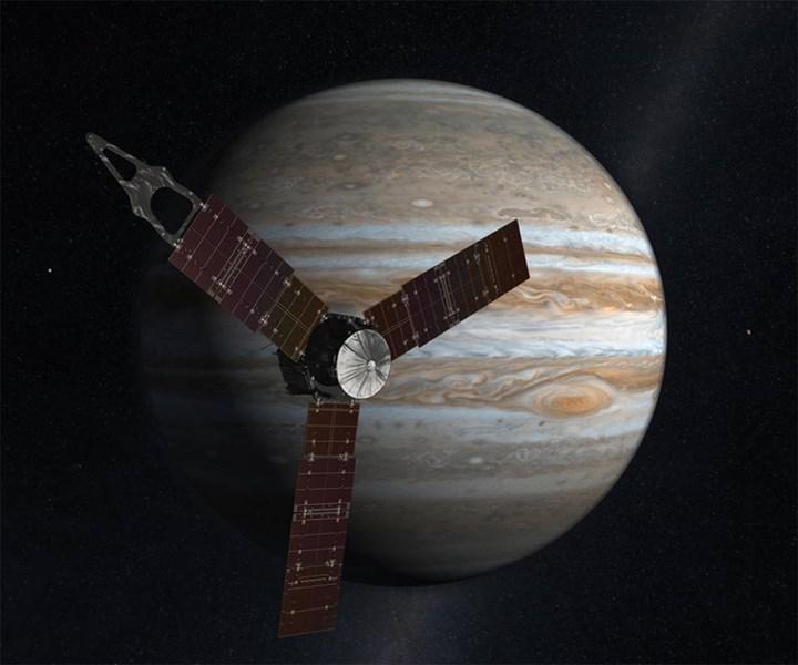Jüpiter'deki Juno uzay aracı, gizemli uydu Europa'ya yaklaşacak