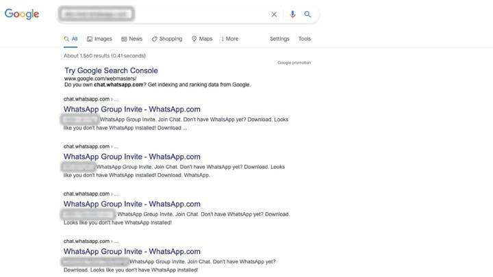 WhatsApp'ta yeni şok: Kullanıcı profilleri ve grupları Google'a saçıldı