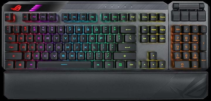 Asus ROG Claymore II modüler oyuncu klavyesi duyuruldu