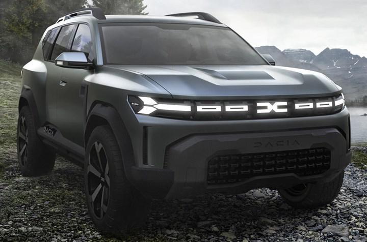 Dacia'dan yeni SUV geliyor! İşte Dacia Bigster konsepti