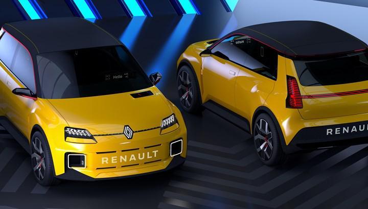 Renault 5 elektrikli olarak geri dönüyor: İşte konsept tasarımı