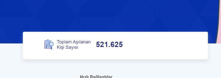 Türkiye'de koronavirüs aşısı olan kişi sayısı 500 bini geçti