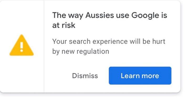 Google Avusturalya yerel haberleri engellemekle suçlanıyor
