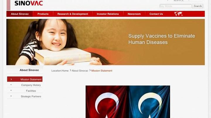 Türkiye'de uygulanan korona aşısının üreticisi Sinovac Türkleri banladı