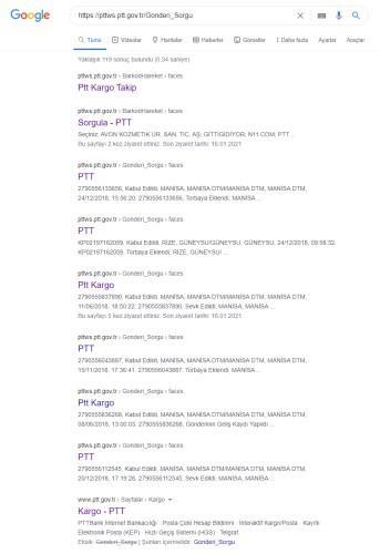 PTT'de güvenlik açığı: vatandaşların isim ve adres bilgileri herkese açık