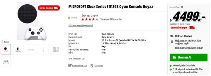 Konsol fiyatları düşmeye başladı: Xbox Series X, 7.499 TL; Xbox Series S, 4.499 TL