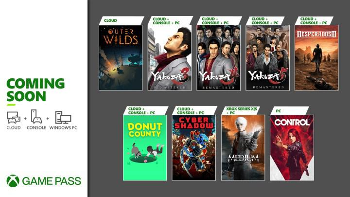 Ocak ayında Xbox Game Pass'e eklenecek yeni oyunlar belli oldu: Desperados III, Control ve daha fazlası