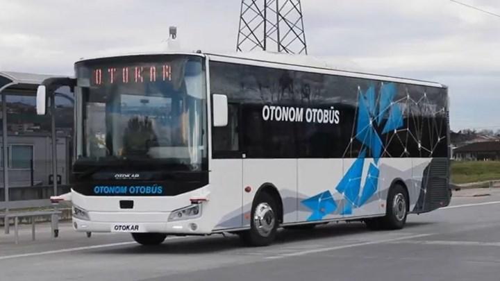 Otokar'ın sürücüsüz otobüsü testleri başarıyla geçti