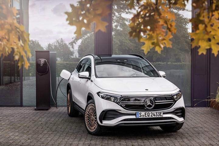 2021 Mercedes-Benz EQA tanıtıldı: Markanın en küçük elektriklisi