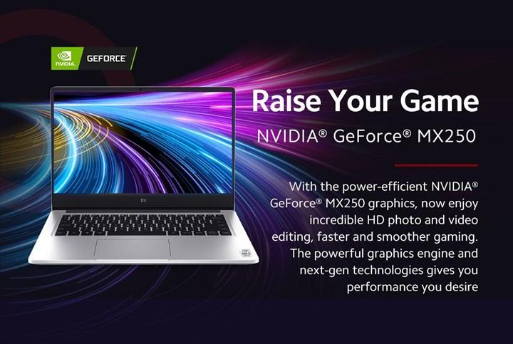 Entegre kameralı Xiaomi Mi Notebook 14 (IC) tanıtıldı