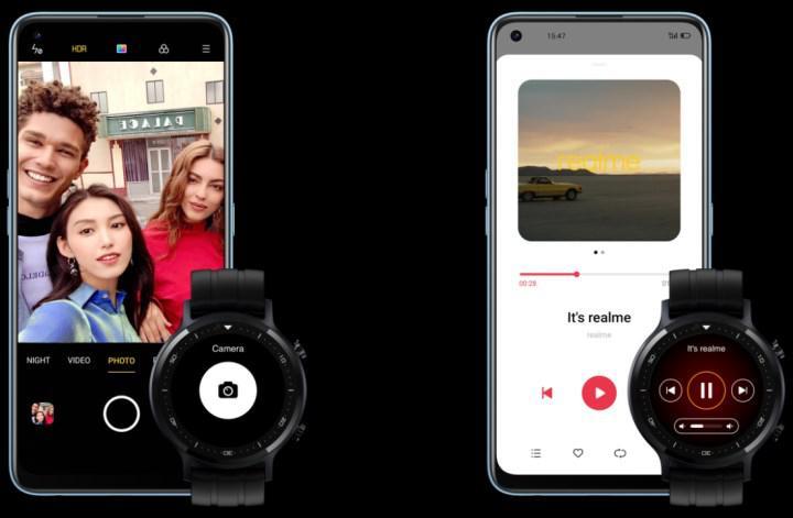 realme Watch S'in dikkat çeken özellikleri