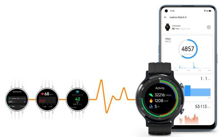 realme Watch S, Amazon.com.tr'de satışa çıktı