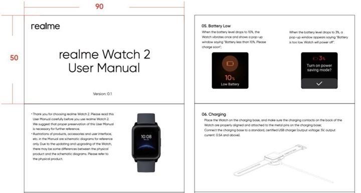 Realme Watch 2'nin teknik özellikleri ve görüntüleri ortaya çıktı