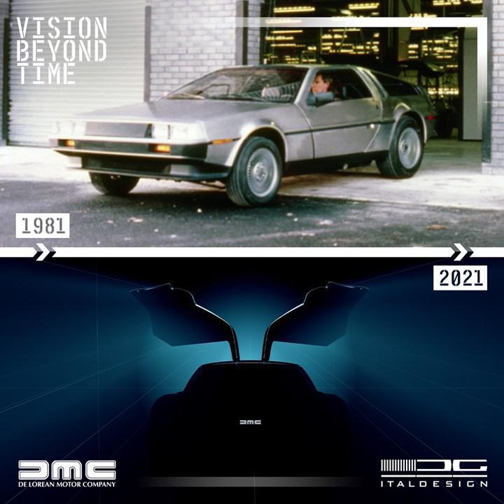 Italdesign'dan DeLorean DMC-12 sürprizi: 'Geleceğe Dönüş' filminin ikonu geri mi dönüyor?
