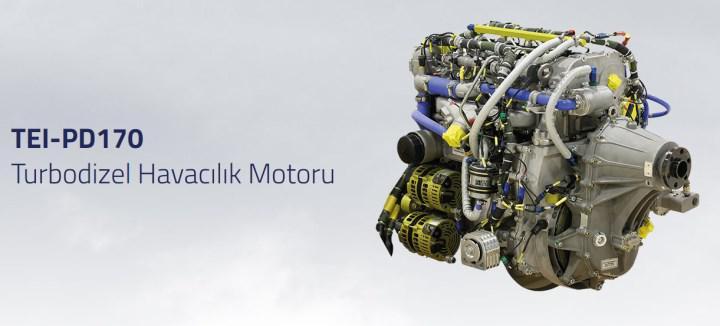AKINCI-C TİHA yerli motor TEI-PD222 ile uçacak