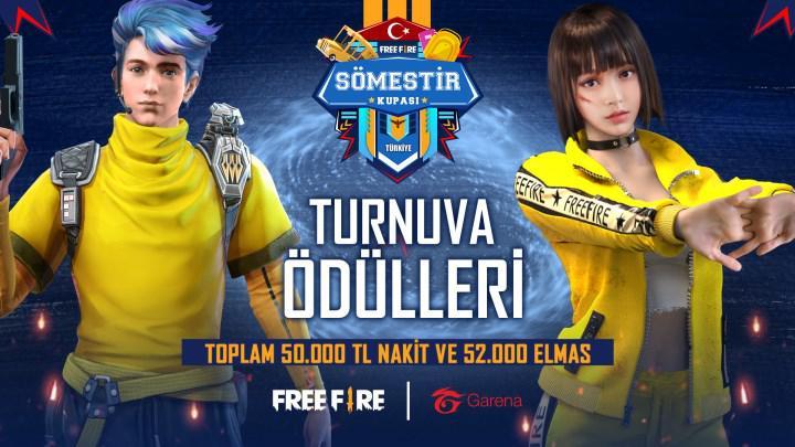 Garena 2021 yılında Türkiye'de gerçekleştireceği ilk turnuvası Free Fire Sömestir Kupası'nı duyurdu