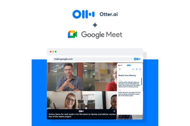 Google Meet için Otter dikte servisi başladı